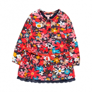 Boboli lilleline kleit 248004, kirju